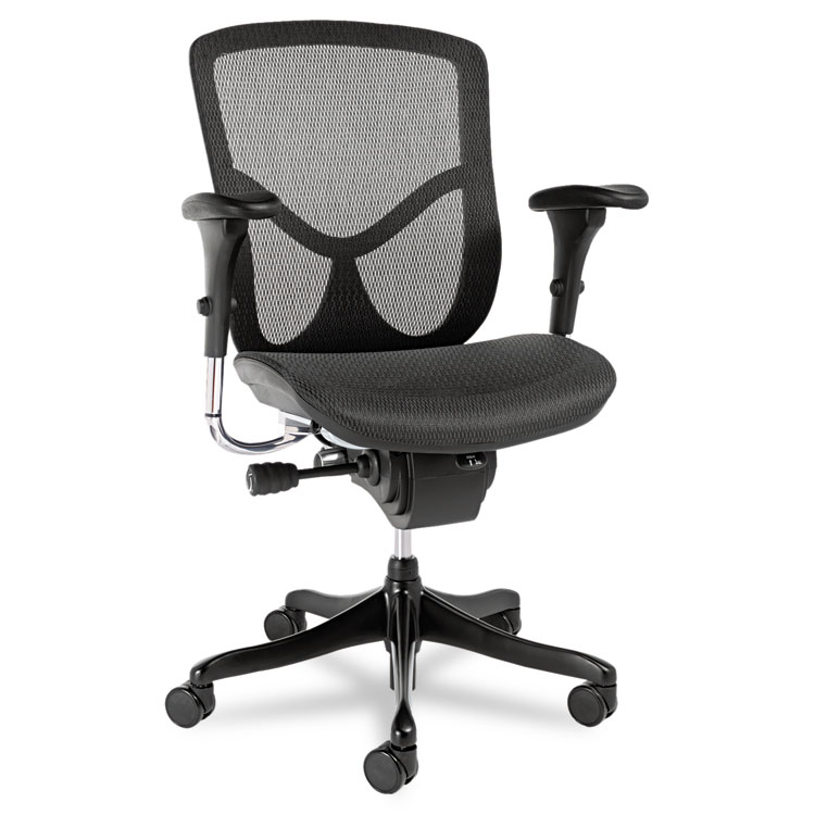 Home/Chairs, Stools U0026 Seating Accessories/Chairs/Stools. Alera® EQ Series  Ergonomic Multifunction Mid Back Mesh ...