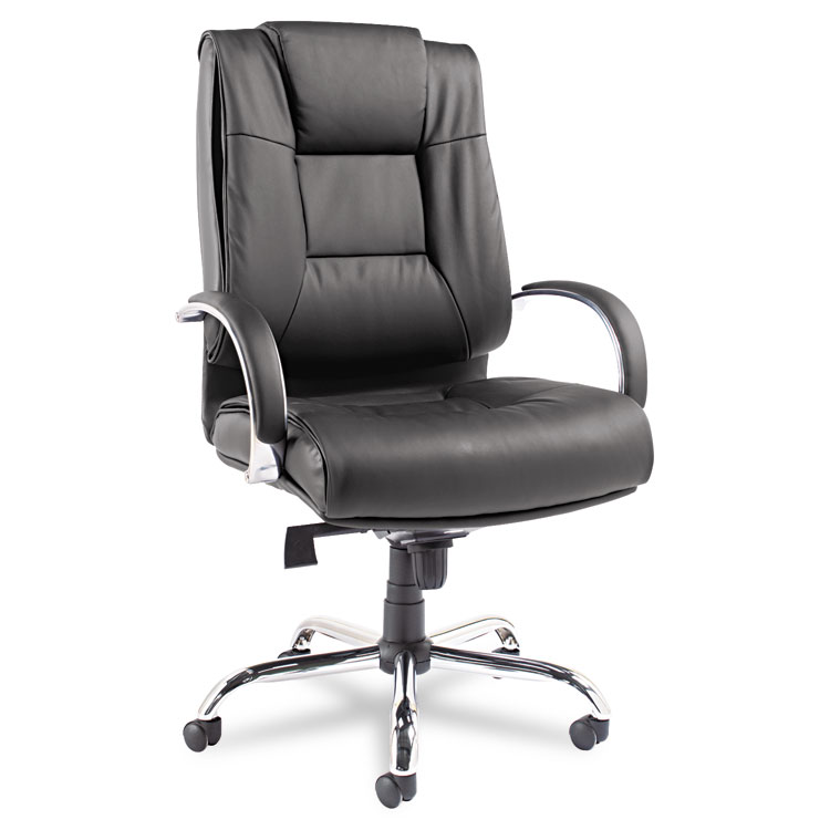 alera® ravino big & tall series high-back swivel/tilt leather