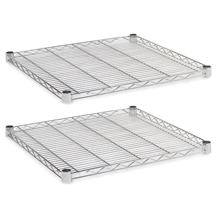Alera® Industrial Wire Shelving Extra Wire Shelves, 24w x 24d ...