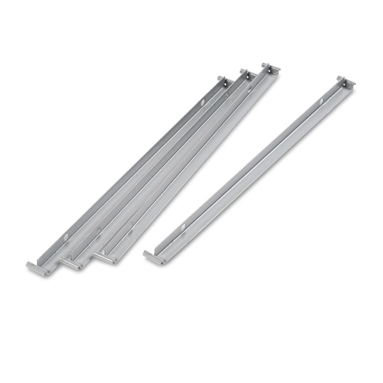 Pleasant Alera Two Row Hangrails For 30 Or 36 Files Aluminum 4 Pack Home Interior And Landscaping Synyenasavecom