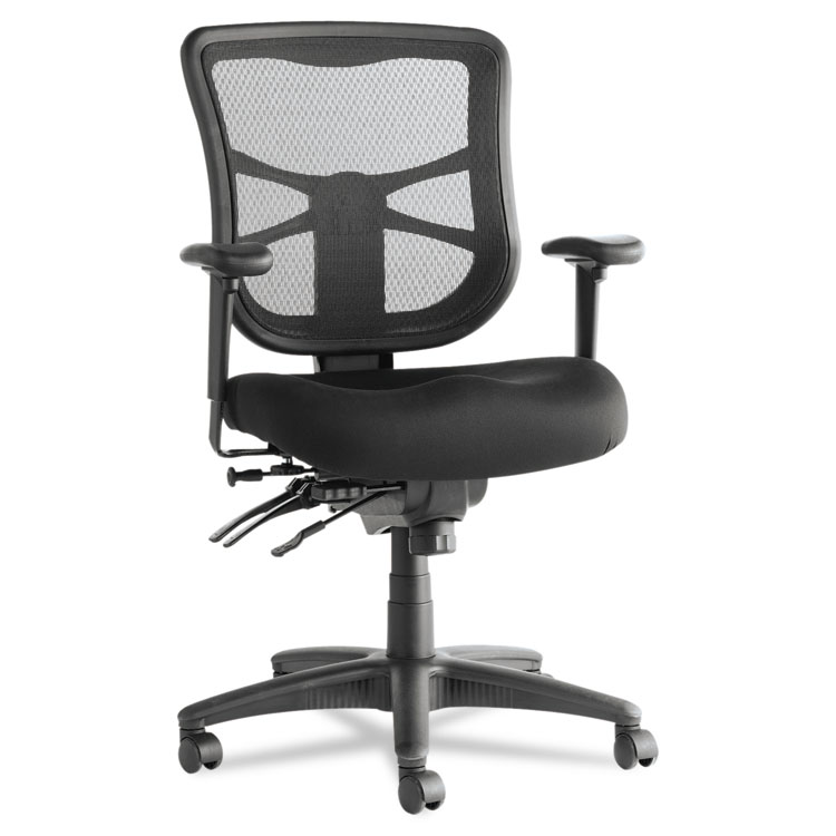 169779  sc 1 st  Alera Details & Alera® Elusion Series Mesh Mid-Back Multifunction Chair Black ...