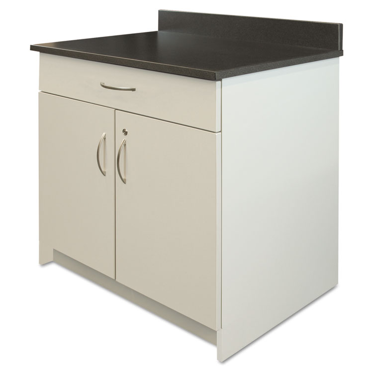 Alera Plus Hospitality Base Cabinet Two Door Drawer 36 X