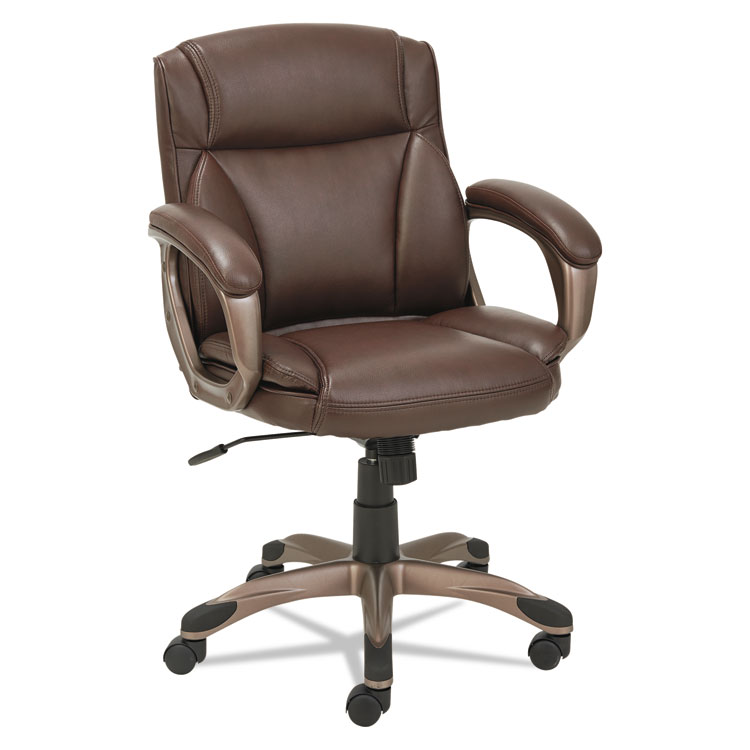 Home/Chairs Stools u0026 Seating Accessories/Chairs/Stools  sc 1 st  Alera Details & Alera® Veon Series Low-Back Leather Task Chair w/Coil Spring Cushion ...