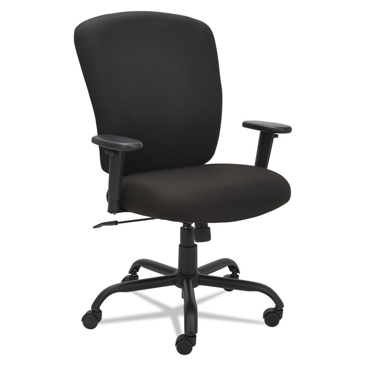 Alera® Mota Series Big And Tall Chair, Black U2013 Alera Details