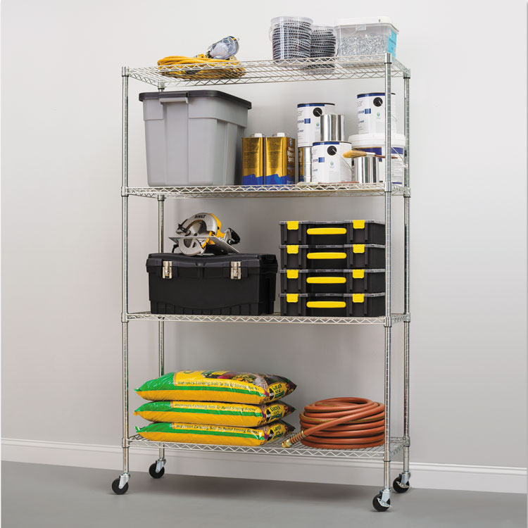 244183 - Wire Shelving Units