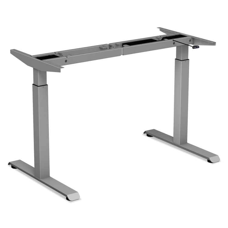 Tremendous Alera 2 Stage Electric Adjustable Table Base 27 1 4 To 47 1 4 High Gray Download Free Architecture Designs Embacsunscenecom